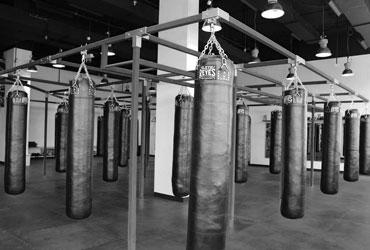 Boxing Punching Bags Round 10 Boxing Gym Dubai